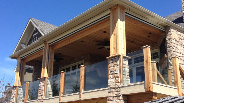 Calgary outdoor living Exterior home renovations calgary